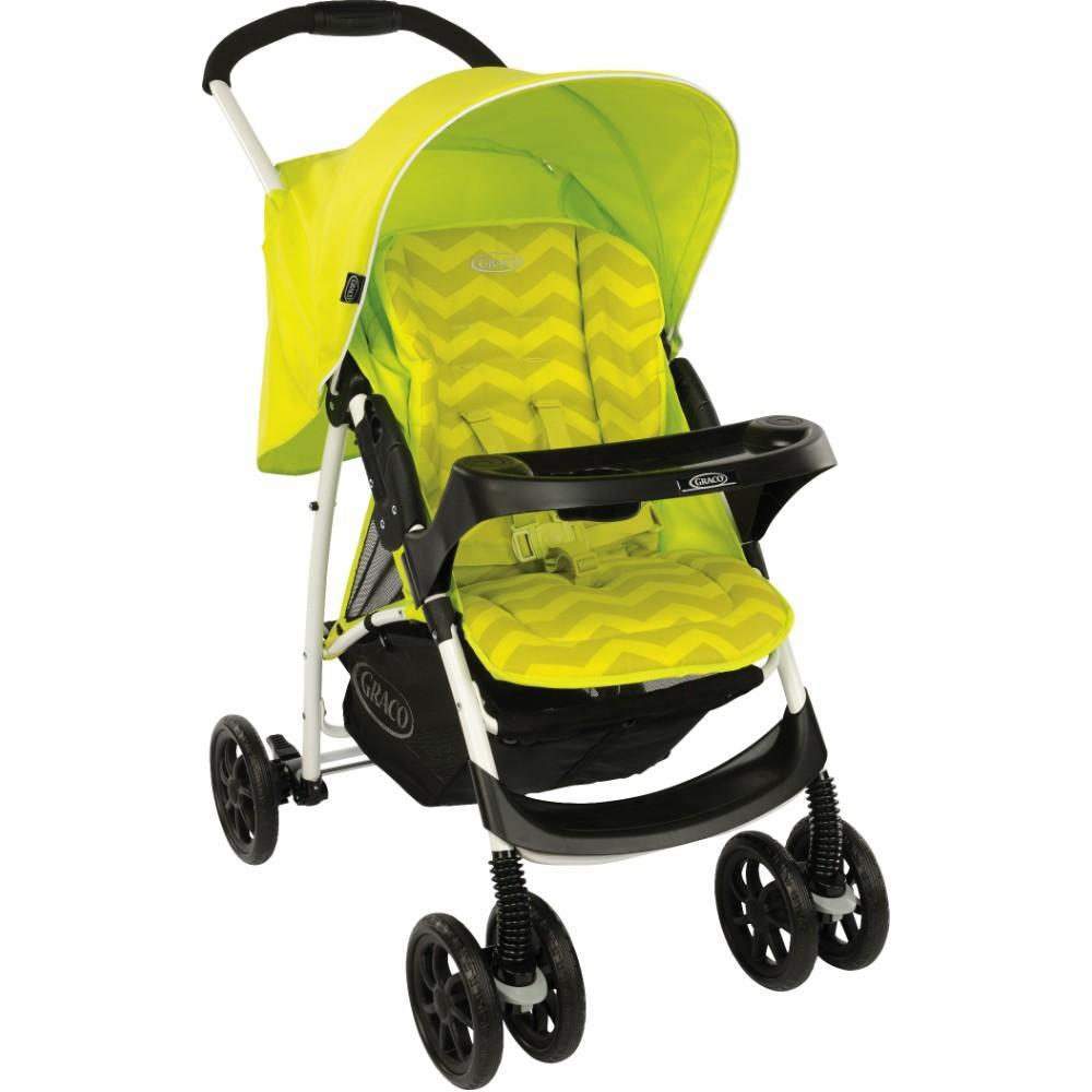 Graco Mirage Lime ZigZag